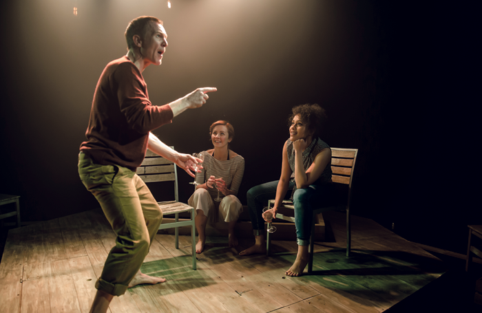 Tiny Dynamite at London's Old Red Lion Theatre – director David Loumgair set up Common last year to support the industry to improve class diversity. Photo: Richard Davenport