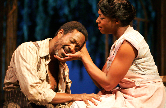 Clarke Peters and Nicola Hughes in Porgy and Bess at the Savoy Theatre in 2006. Photo: Tristram Kenton