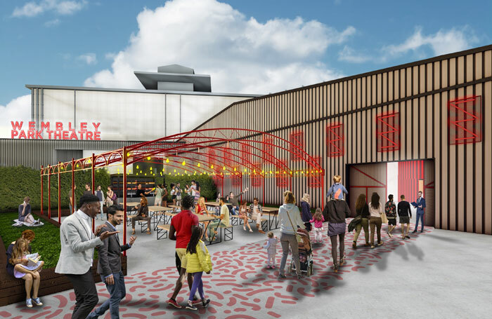 Artist's impression of the new Troubadour Wembley Park Theatre, where War Horse will play.