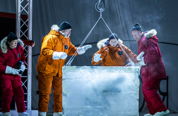 The cast of Scottish Opera's Anthropocene. Photo: James Glossop