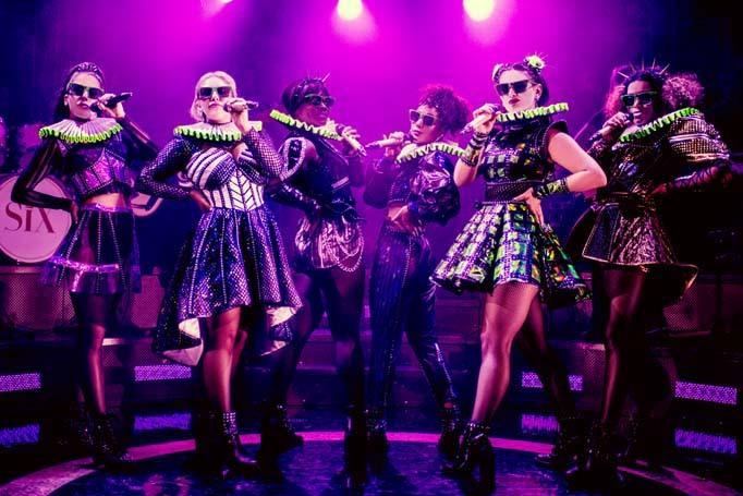 Six at the Arts Theatre, London. Photo: Idil Sukan
