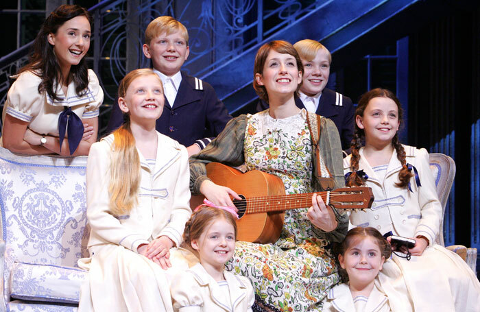 The 2006 production of The Sound of Music, starring Connie Fisher. Photo: Tristram Kenton