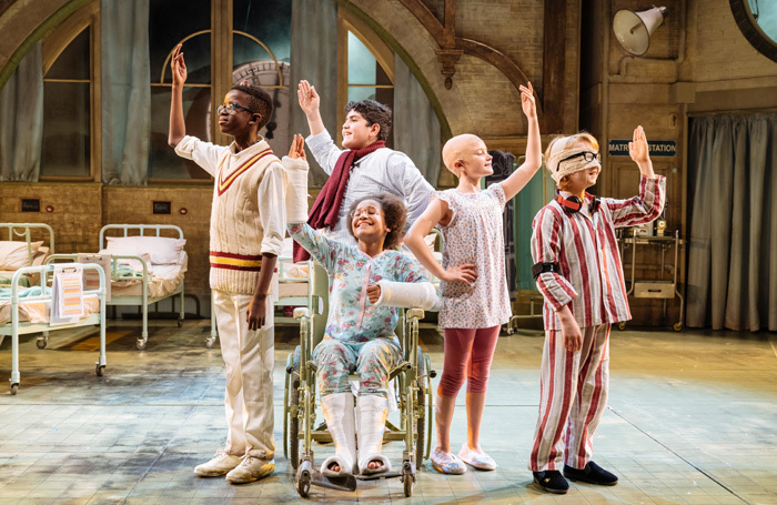 The cast of The Midnight Gang at Chichester Festival Theatre. Photo: Manuel Harlan
