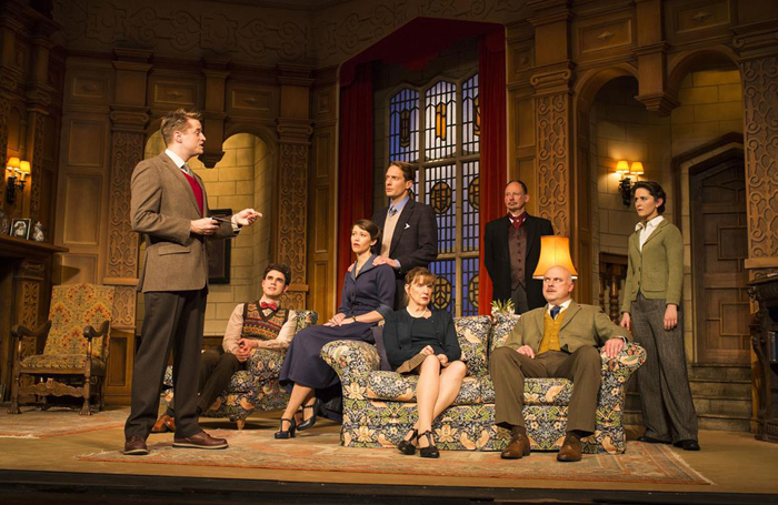 A scene from The Mousetrap at St Martin's Theatre: the show has been running for more than 65 years. Photo: Helen Maybanks