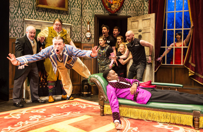 JHI has created campaigns for shows including The Play That Goes Wrong. Photo: Helen Murray