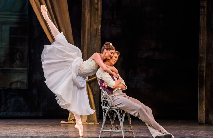Lauren Cuthbertson and Vadim Muntagirov in The Two Pigeons at the Royal Opera House, London. Photo: Tristram Kenton