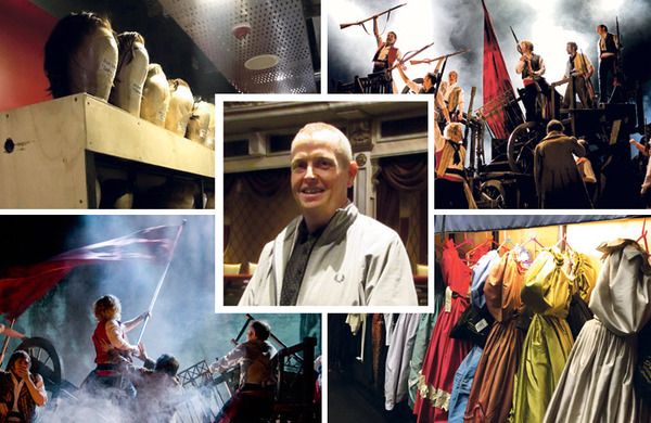 Les Mis tour production manager on how 16 lorries with 80 tons of kit keep the show on the road