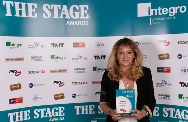 Sonia Friedman named producer of the year in The Stage Awards 2019