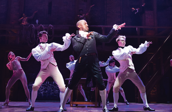 Hamilton helps West End achieve highest-grossing year ever