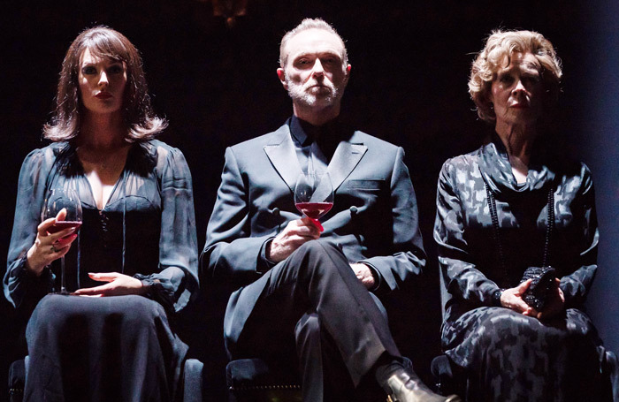 Katherine Kingsley, Gary Kemp and Celia Imrie in Pinter Six. Photo: Marc Brenner