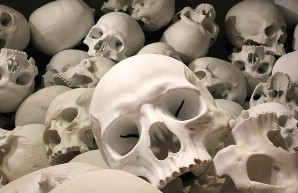 Deputy stage manager Emma Cook: How we made skulls and bones to be smashed up on stage