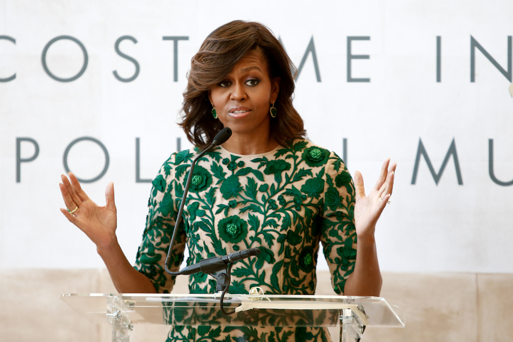 Michelle Obama left her high-paid job to work in the non-profit sector. Photo: Shutterstock