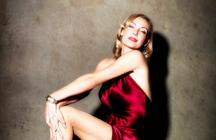 Ute Lemper will perform at the Arcola from May 14 to 19. Photo: Lucas Allen