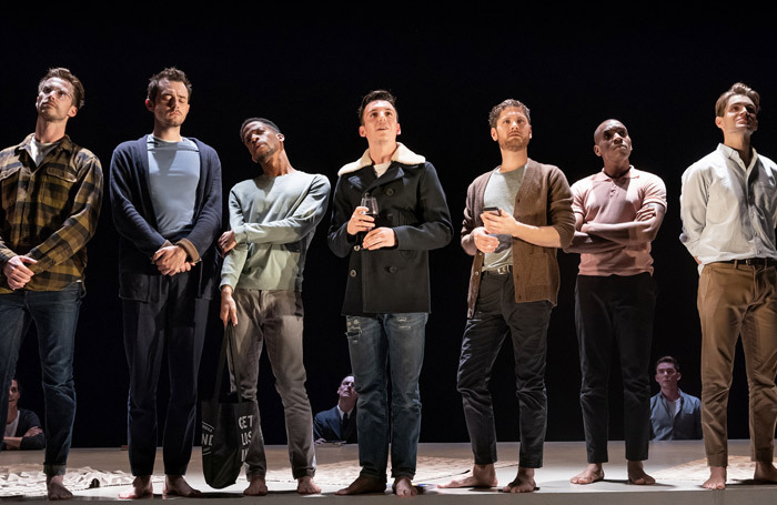 The cast of The Inheritance. Photo: Marc Brenner