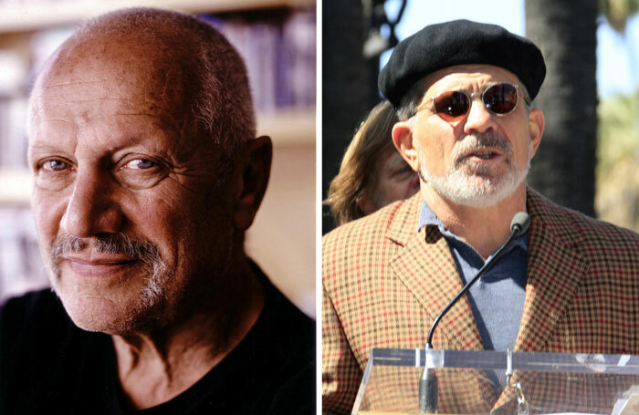 Steven Berkoff, left, and David Mamet (photo: Shutterstock) have both created shows about disgraced producer Harvey Weinstein. But are they best placed to tell this story?