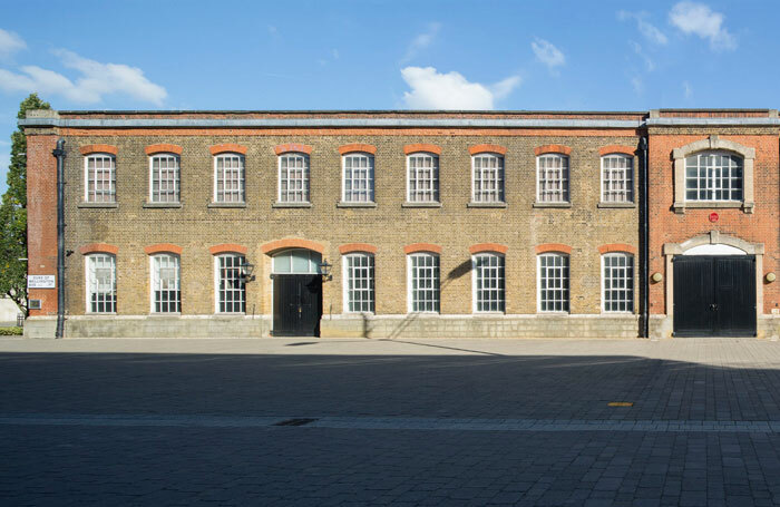 Exterior of one of the Creative District buildings in Woolwich. Photo: Agnese Sanvito