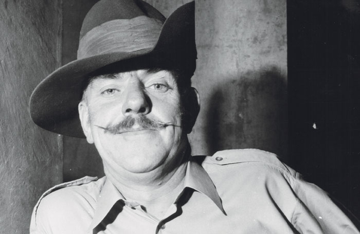 Windsor Davies in the TV series It Ain't Half Hot Mum in 1974. Photo: Chris Ware/Keystone/Getty Images