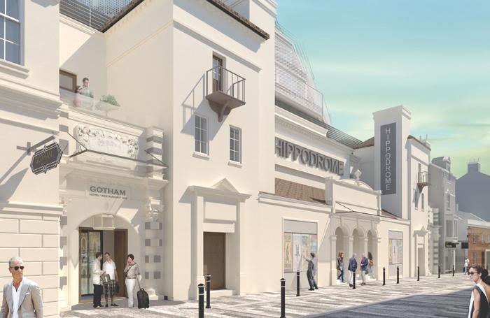 Architect's impression of the renovated Brighton Hippodrome. Photo: Hipp Investments/LCE Architects