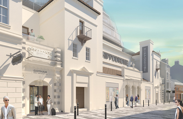 Proposed designs for renovated Brighton Hippodrome unveiled