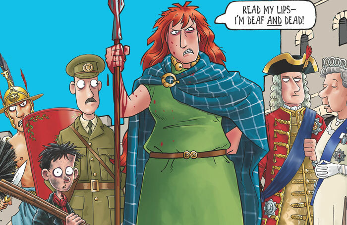 Horrible Histories – Dreadful Deaf will be a collaboration between Deafinitely Theatre and Birmingham Stage Company