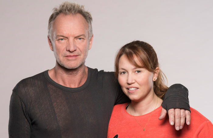 Sting with Kate Prince. Photo: Johan Persson
