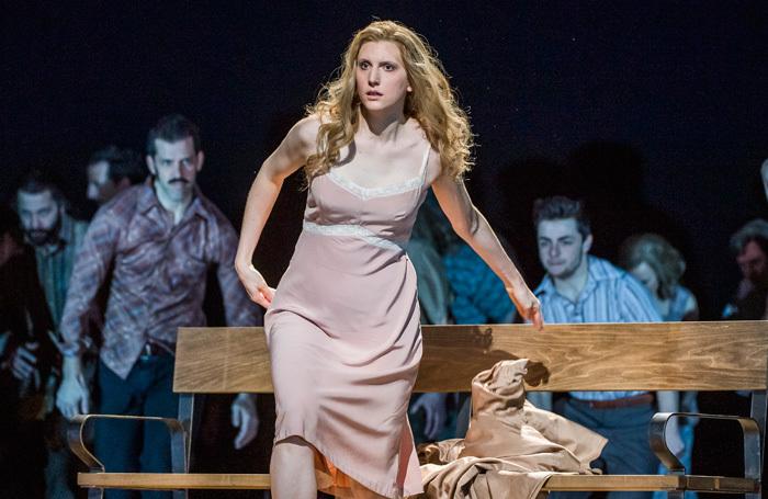 Amanda Majeski in Katya Kabanova at Royal Opera House, London. Photo: Tristram Kenton