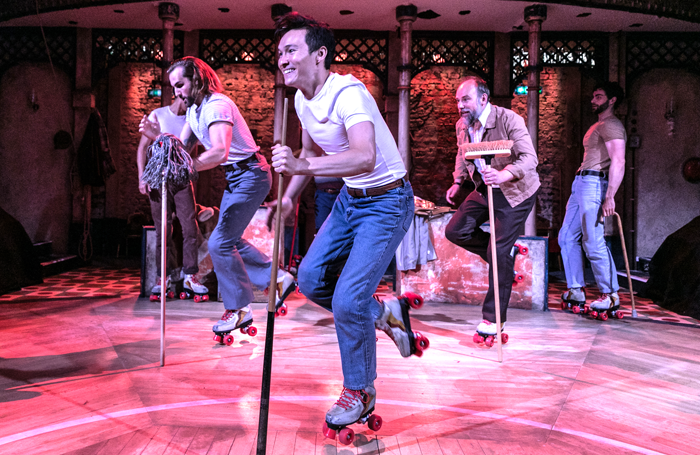 The Rink at Southwark Playhouse won four awards at the Offies, including best musical production