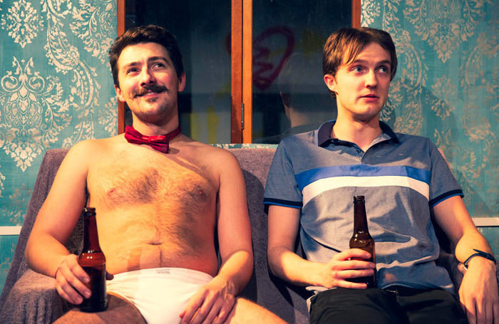 Luke Adamson and Joshua Welch in Th' Importance of Bein' Earnest at Drayton Arms, London. Photo: Cam Harris
