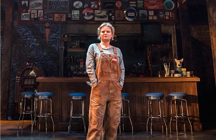 Martha Plimpton in Sweat at the Donmar Warehouse. Photo: Johan Persson