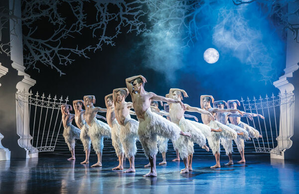 Matthew Bourne's Swan Lake to be broadcast to cinemas