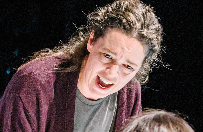 Olivia Colman, pictured here in Mosquitoes at the National Theatre, has spoken about the role of luck in her own career. Photo: Tristram Kenton