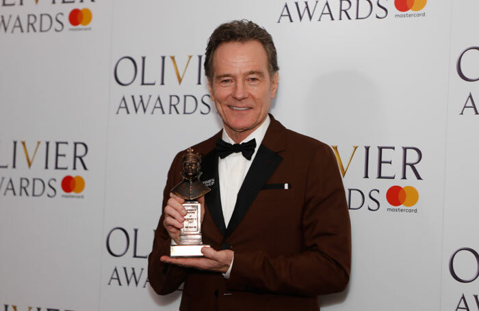 Bryan Cranston at the Olivier Awards 2018. The actor was cast as a wheelchair-using character in the film The Upside, to the dismay of many disabled actors. Photo: Pamela Raith