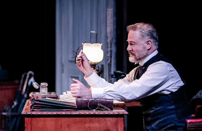 Owen Teale in Rutherford and Son at Crucible Theatre, Sheffield. Photo: The Other Richard