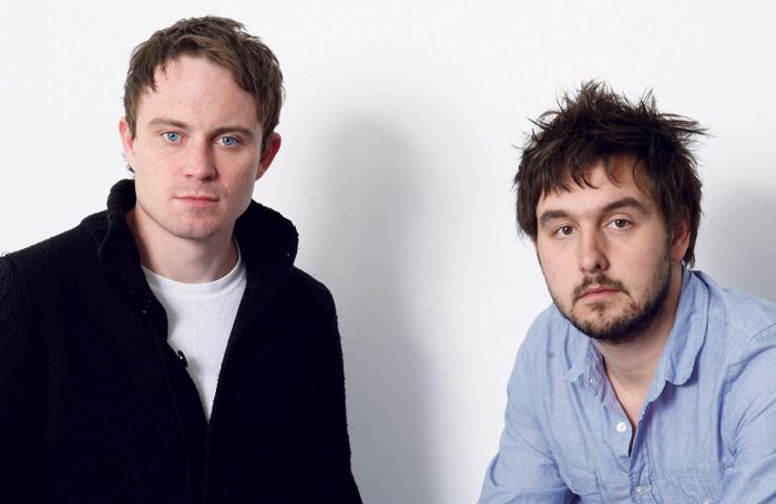 James Grieve and George Perrin. Photo: Geraint Lewis