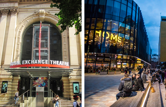 Manchester's Royal Exchange Theatre and Home are among the venues receiving funding from the Theatres Trust. Photos: Catherine Gerbrands/Chris Payne