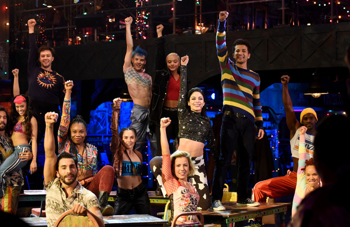 The cast of Rent: Live. Photo: 2019 Fox Broadcasting Co. Ray Mickshaw/FOX