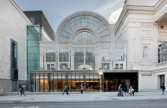 The exterior of the Royal Opera House. Photo: Luke Hayes