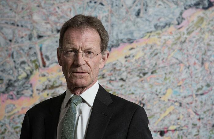 Nicholas Serota, chair of Arts Council England. Photo: Hugh Glendinning