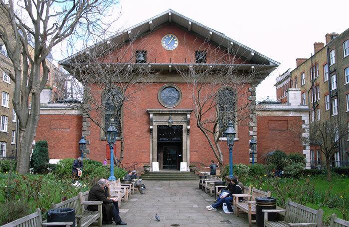 The Actors' Church, St Paul's Covent Garden. Photo: Steve Cadman