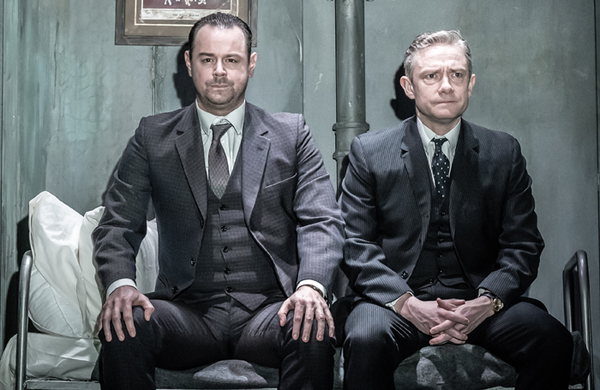 Pinter Seven starring Martin Freeman and Danny Dyer – review round-up