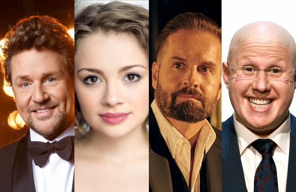 Michael Ball and Alfie Boe to star in Les Miserables concert version