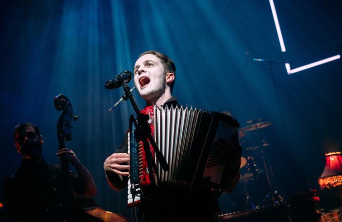Biff Smith in The Dark Carnival at Tramway, Glasgow. Photo: Mihaela Bodlovic