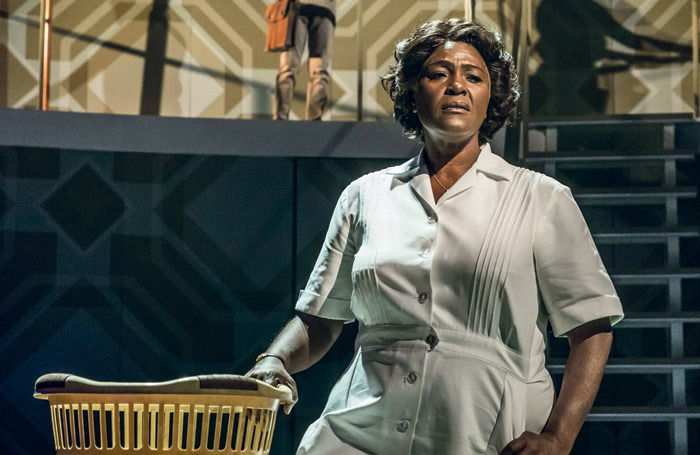 Sharon D Clarke in Caroline, Or Change, which closes in the West End on March 2. Photo: Marc Brenner