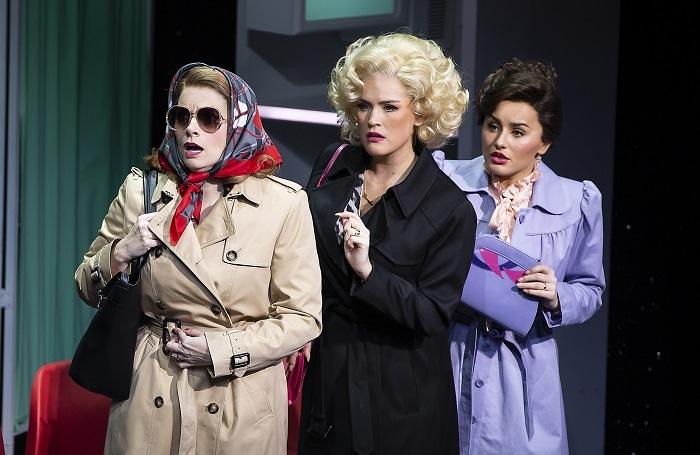 9 to 5 the Musical at Savoy Theatre, London. Photo: Pamela Raith