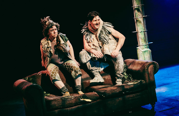 Kim Heron and Luca Thompson in A Midsummer Night's Dream at Tobacco Factory Theatres, Bristol