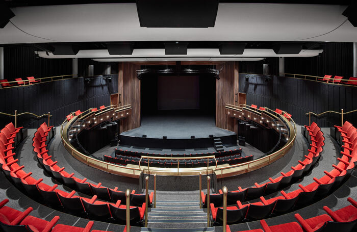 The renovated Bloomsbury Theatre. Photo: Nicholas Hare Architects LLP and alanwilliamsphotography.com