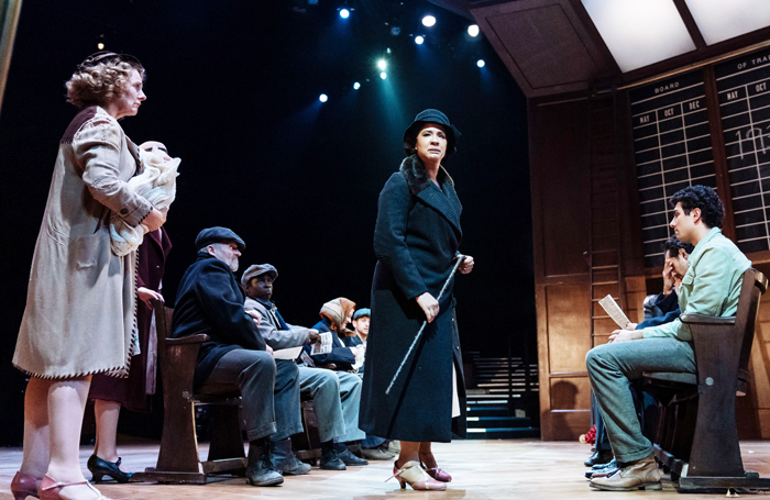 The cast of The American Clock at Old Vic, London. Photo: Manuel Harlan