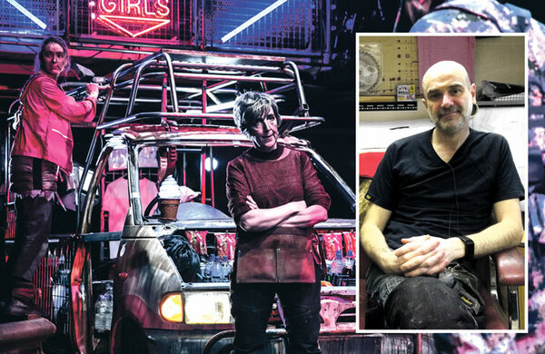 Props maker Andy Bubble on the ice cream van he built Julie Hesmondhalgh for Mother Courage