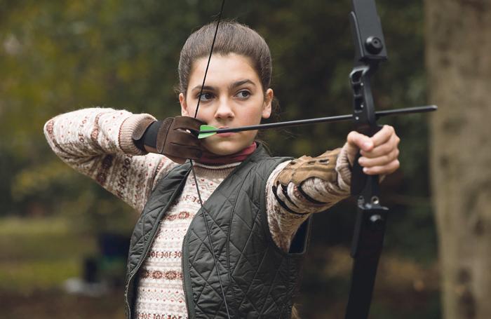 Emily Carey in the 2018 film Tomb Raider. Photo: Christian Black