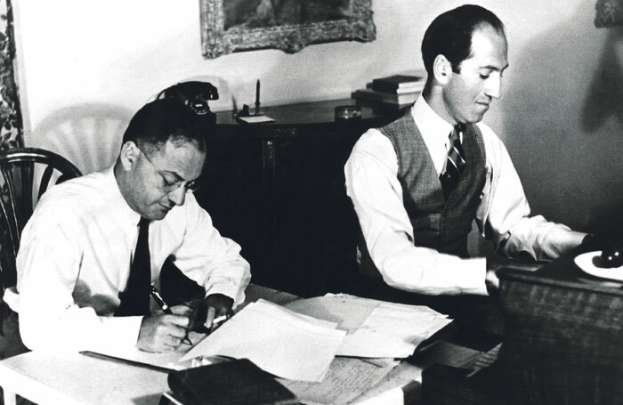 George and Ira Gershwin in the 1920s